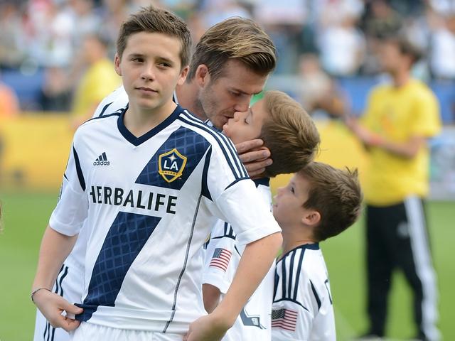 Beckham luôn tôn trọng sự lựa chọn của các con.