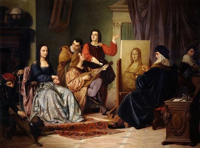 Bức họa Monalisa nổi tiếng là kiệt tác vĩ đại mà Leonardo da Vinci để lại.