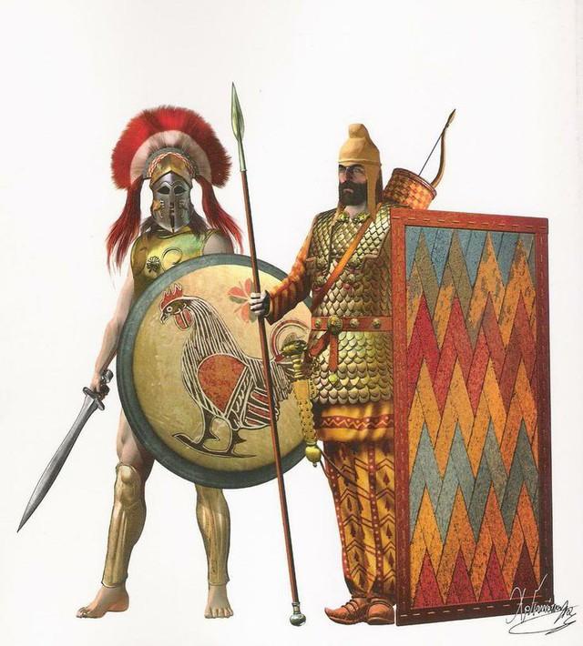 Sức mạnh của quân Ba Tư một phần không nhỏ từ những chiến binh Ba Tư