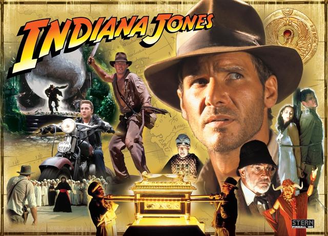 Bộ phim Indiana Jones.