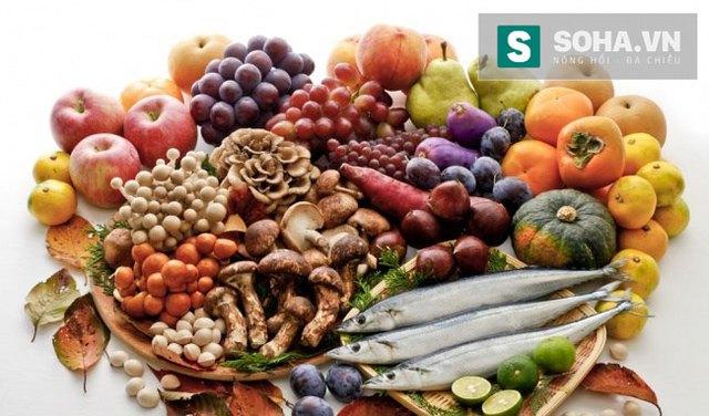 Minh họa chế độ ăn Địa Trung Hải tốt cho sức khỏe, nhất là người béo phì, tiểu đường.