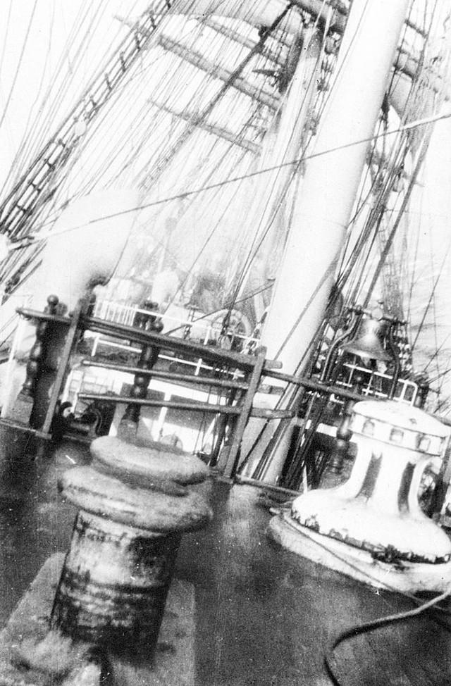 Phải mất 8 năm, con tàu cánh buồm khổng lồ Kobenhavn mới hoàn thành.