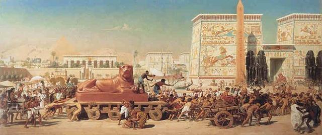 Người Ai Cập tôn sùng các vị thần của mình