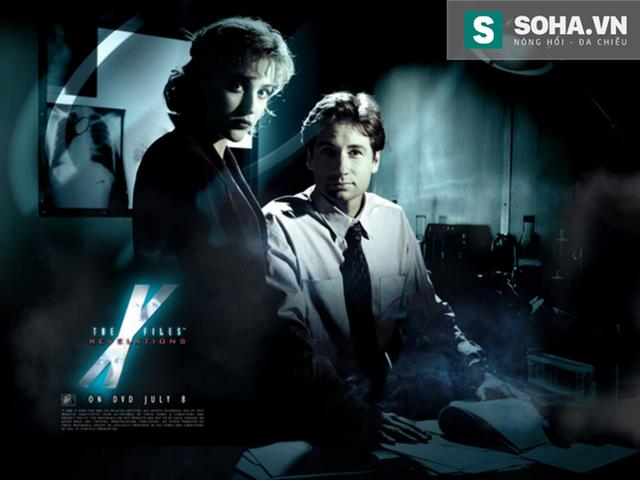 X- file là tài liệu bí mật từng được dựng thành phim