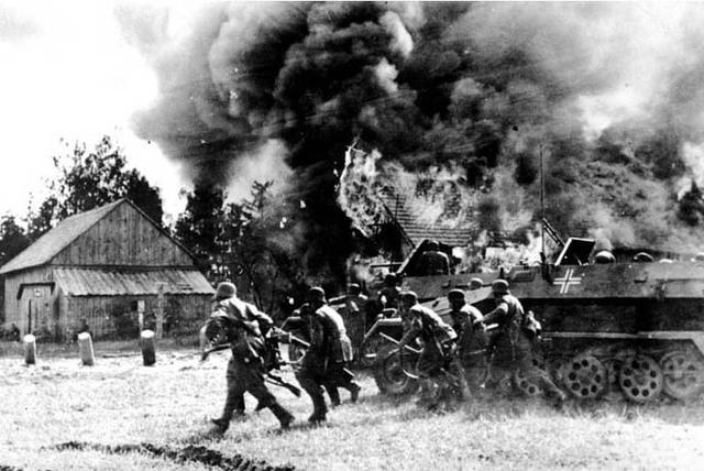 Hình ảnh trong trận chiến Barbarossa