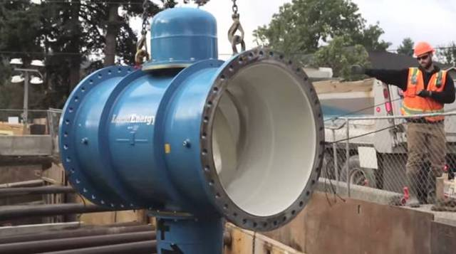 Lắp đặt hệ thống vào đường ống nước chính
