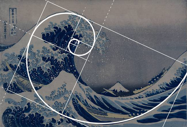 Bức tranh Sóng lớn nổi tiếng của Hokusai