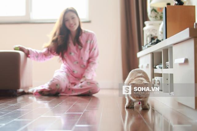 Bun được xếp ở chung phòng với Ngọc Phượng bởi với cô, Bun không chỉ là 1 chú thú cưng mà như 1 thành viên trong gia đình.