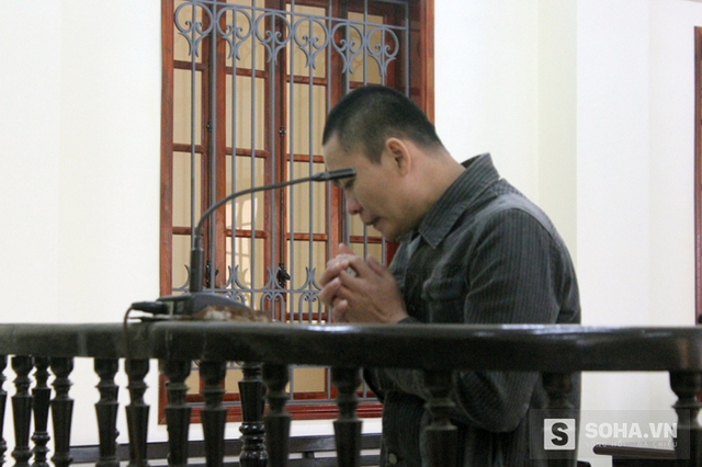 Bị cáo Dũng tỏ ra ân hận tại phiên tòa ngày 28/1.
