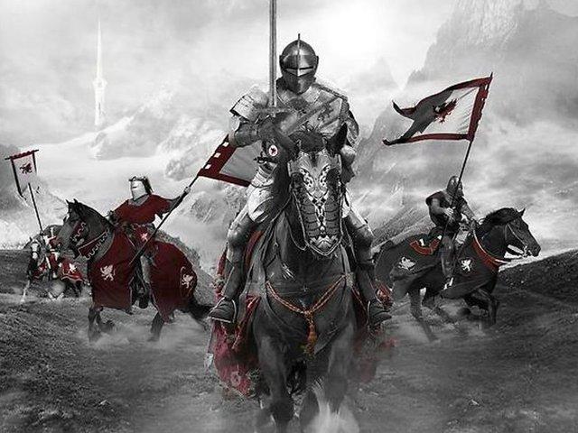 Con đường trở thành một hiệp sĩ gồm 3 giai đoạn.