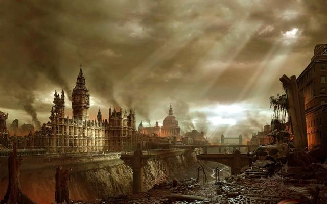 Thành phố sau động đất