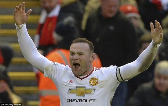 Rooney là người hùng trong chiến thắng 1-0 của Man United trước Liverpool
