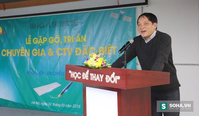 Nhà báo Nguyễn Đăng Phát.