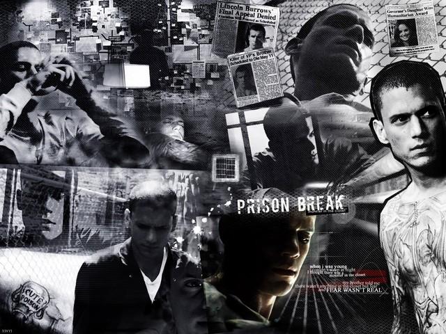 Có những nhóm khác nhau trong tù. Hình ảnh lấy trong phim Vượt ngục.