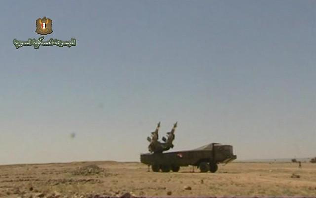 Hệ thống tên lửa phòng không Pechora-2M của Quân đội Syria