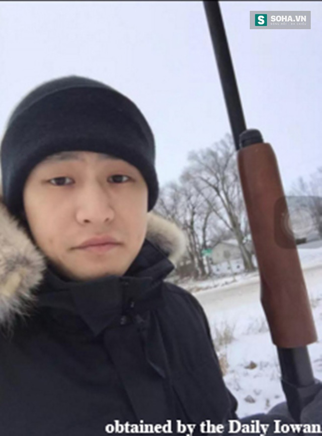 Du học sinh Ni Hanxiang, 22 tuổi, xuất thân từ Hàng Châu, Trung Quốc đăng status khoe việc được cấp phép sử dụng súng hồi tháng trước.