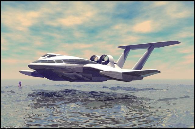 FlyShip đa năng và sử dụng ít nhiên liệu hơn máy bay phản lực