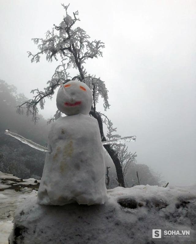 Người tuyết mang thương hiệu Nghệ An.