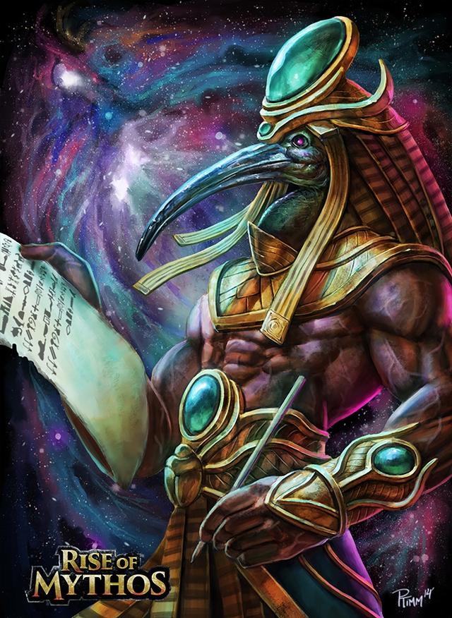 Vị thần trí tuệ của Ai Cập