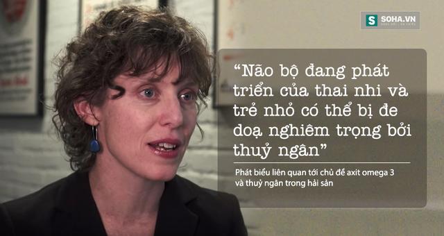Sonya Lunder, chuyên gia nghiên cứu cấp cao của EWG.