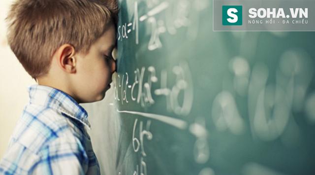 Trẻ em mắc hội chứng này thường rất sợ Toán học