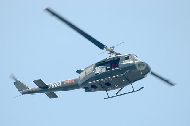 Cái khó nhất với trực thăng UH-1 là không có thiết bị dẫn đường.