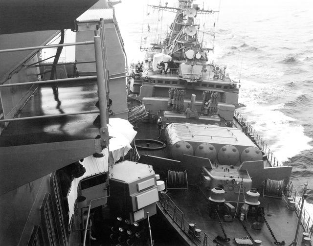 Tàu Bezzavetnyy đâm húc ngoạn mục với tàu tuần dương USS Yorktown (DDG-48/CG-48) của Mỹ.