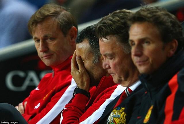 Nỗi thất vọng hiển hiện tại Man United.