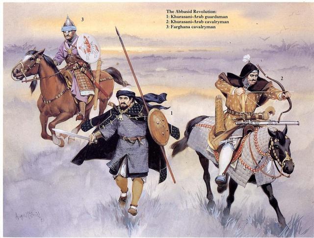 Tạo hình tướng sĩ triều đại Abbas. Ảnh: Pinterest