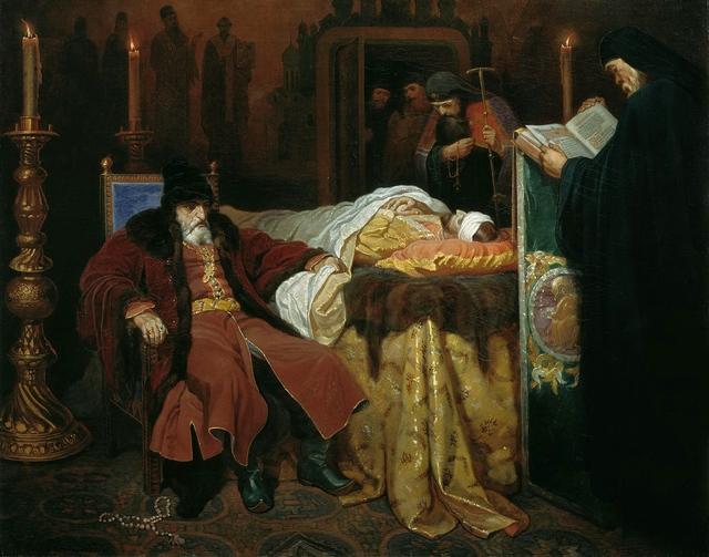 Sa hoàng và cái chết của con trai