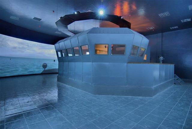 Hệ thống mô phỏng Laguna-11661 của tàu hộ vệ tên lửa Gepard.