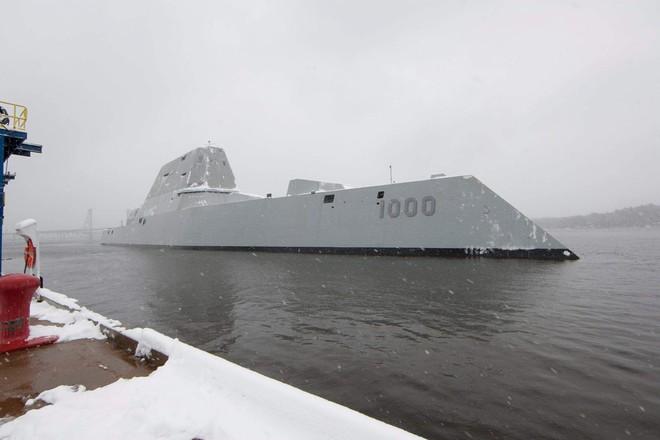 Khả năng tàng hình của Zumwalt khiến nó khó phát hiện gấp 50 lần so với các tàu khu trục hiện nay.