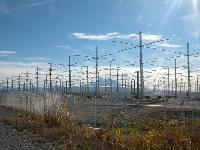 Hệ thống hơn 200 chiếc ăng-ten tại HAARP. Ảnh: Wikipedia.