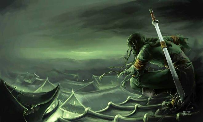 Ninja, những hitman của bóng đêm, luôn ẩn chứa những bí mật hấp dẫn tột cùng. Hình minh họa.