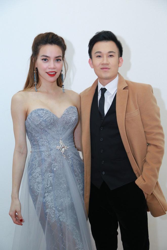 Dương Triệu Vũ luôn có mặt trong các liveshow của Mr. Đàm.
