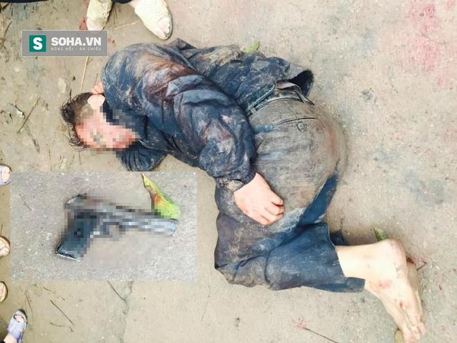 Một thanh niên trộm chó bị người dân địa phương truy đuổi và đánh tử vong ngày 5/4/2016 tại Bắc Giang.