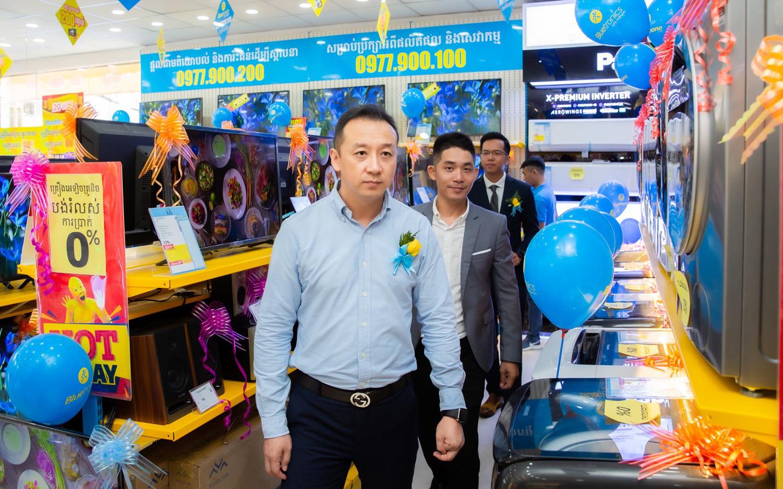 'Xuất ngoại' thần tốc như Điện máy Xanh, số lượng shop gấp 3 lần đối thủ lớn nhất ở Campuchia