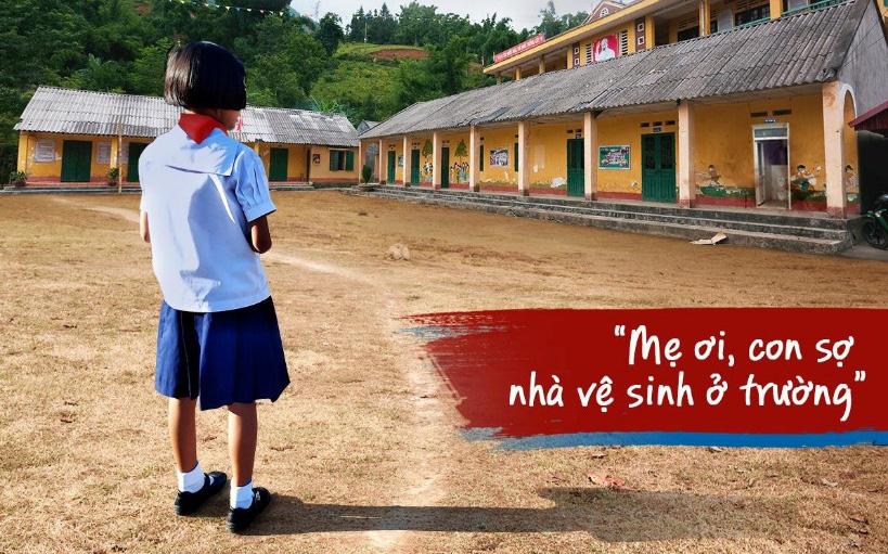 """Nỗ lực xóa tan những """"nỗi ám ảnh kinh hoàng"""" về nhà vệ sinh trường học"""