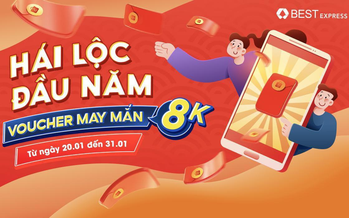BEST Express tặng ngay Iphone 12 Pro Max và lì xì lên đến 888K tại Shopee