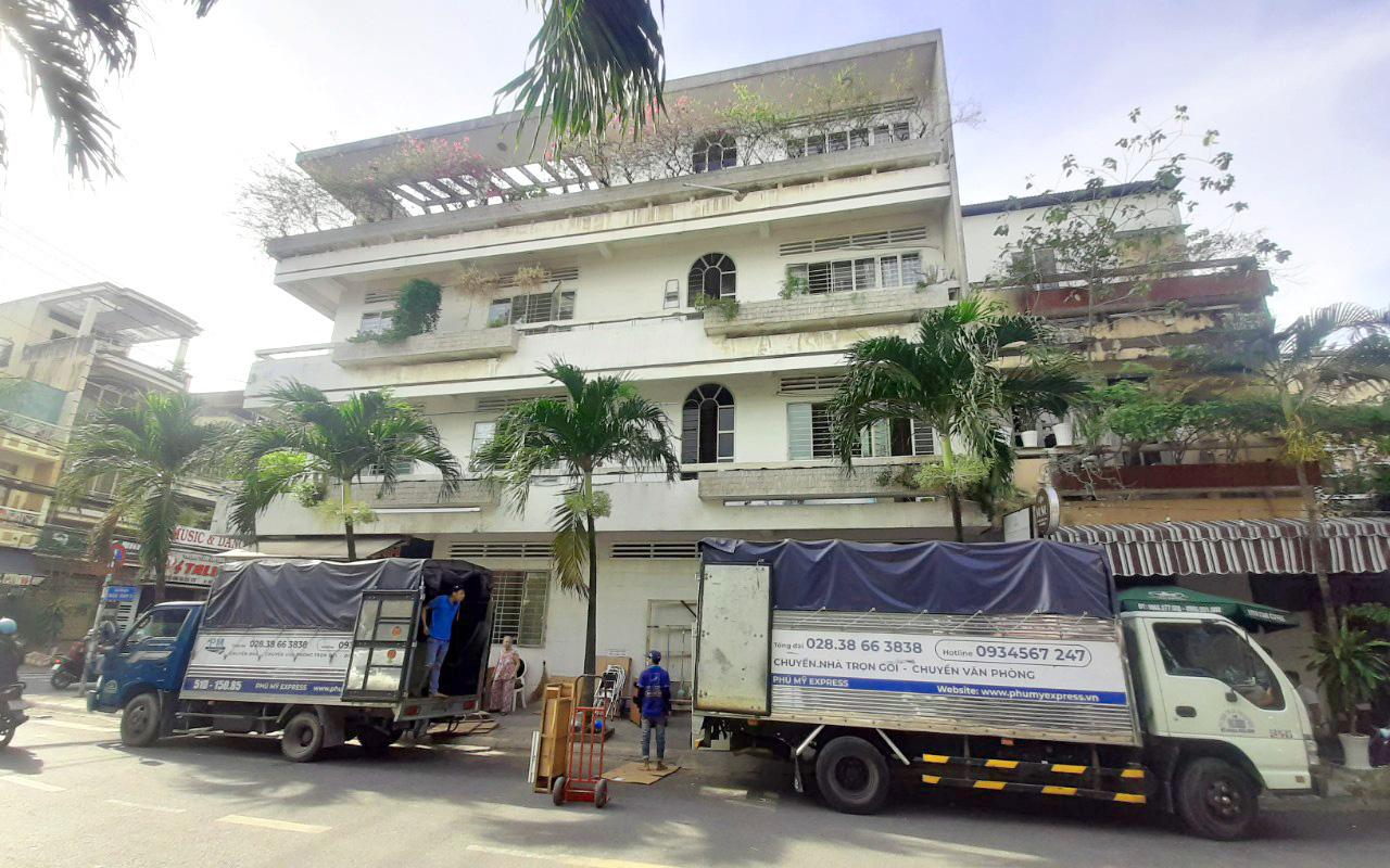 Dịch vụ cho thuê xe tải chuyển nhà tại TPHCM của Phú Mỹ Express