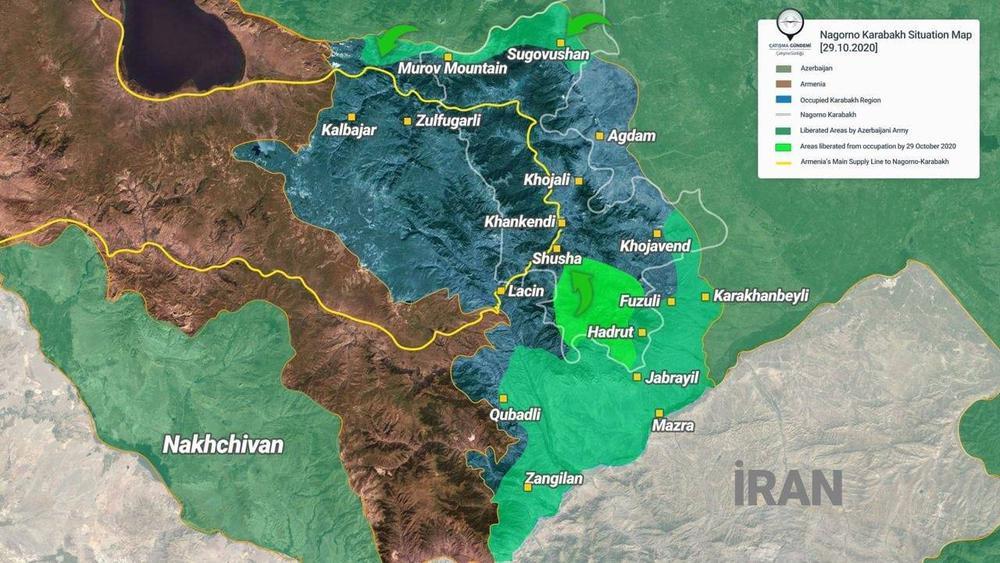 Chiến sự Azerbaijan-Armenia: TT Artsakh kêu gọi tử thủ Shusha, thủ đô Artsakh lâm nguy - Ảnh 1.