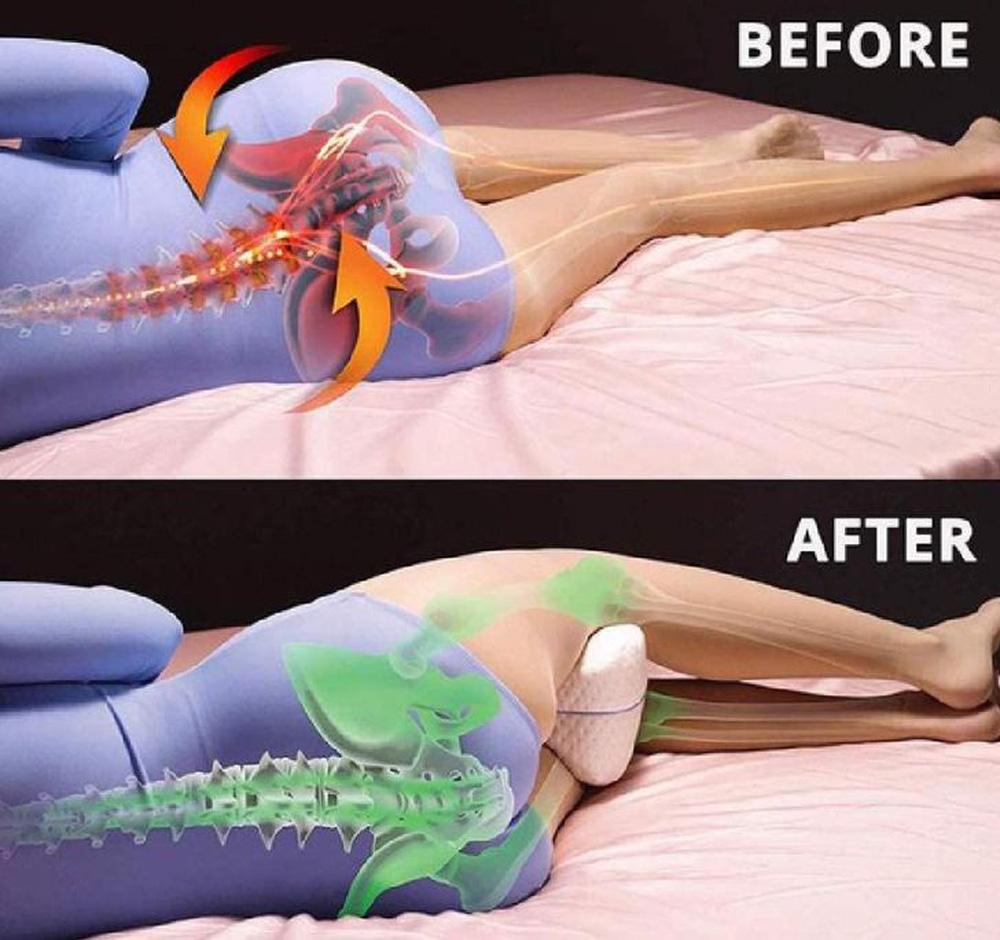 Khi ngủ, kẹp gối ở vị trí này vừa dễ ngủ vừa cực tốt cho sức khoẻ: Tốt nhất cho tuần hoàn máu - Ảnh 6.