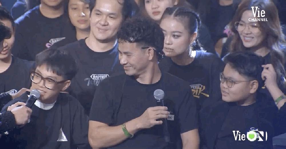 Con trai Xuân Bắc lý giải hài hước về lý do Karik khóc trong đêm chung kết Rap Việt - Ảnh 1.
