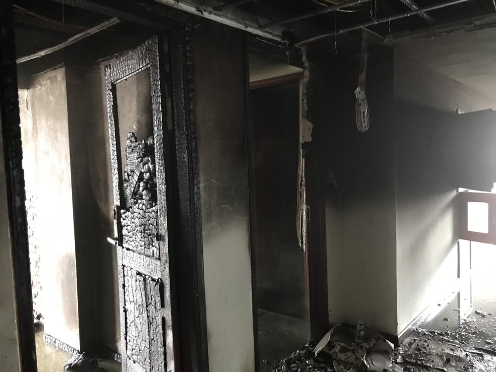 Cháy khách sạn ở Nghệ An, hành khách tháo chạy tán loạn ra ngoài - Ảnh 7.
