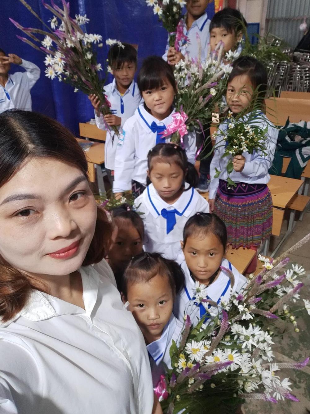 Món quà đẹp nhất của học sinh ngày 20/11 khiến cô giáo vùng cao vừa nhận đã rơi nước mắt - Ảnh 4.