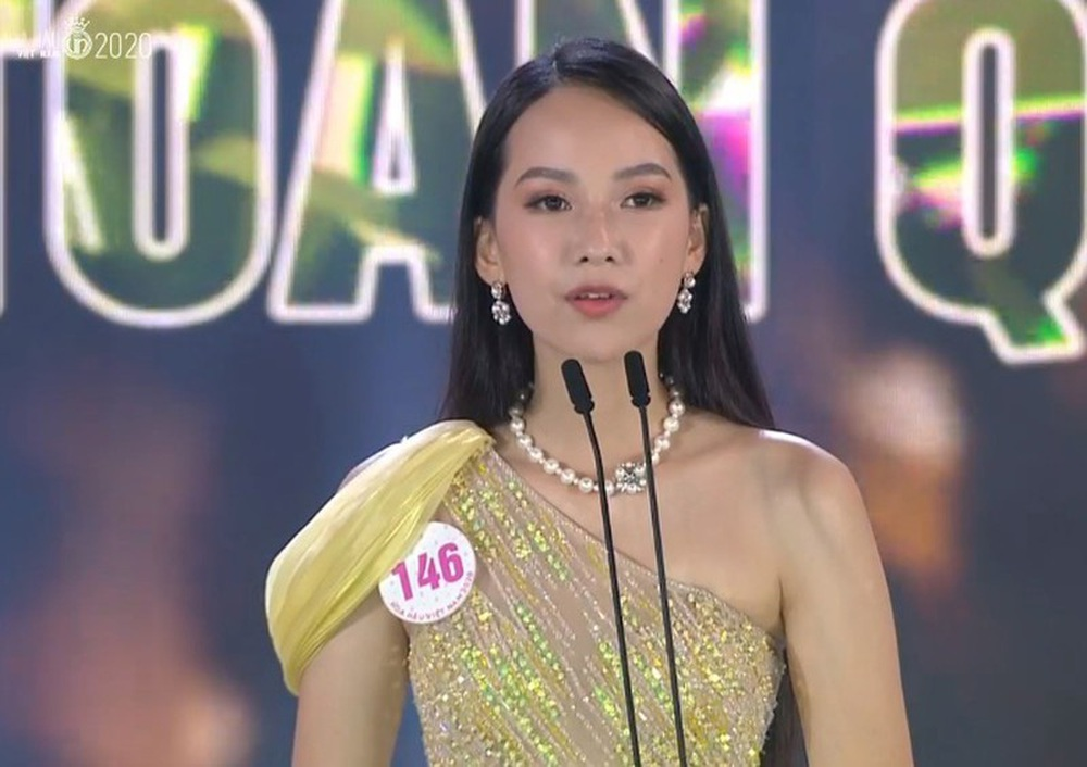 Sự cố hy hữu, khó hiểu trong đêm chung kết Hoa hậu Việt Nam 2020 - Ảnh 1.