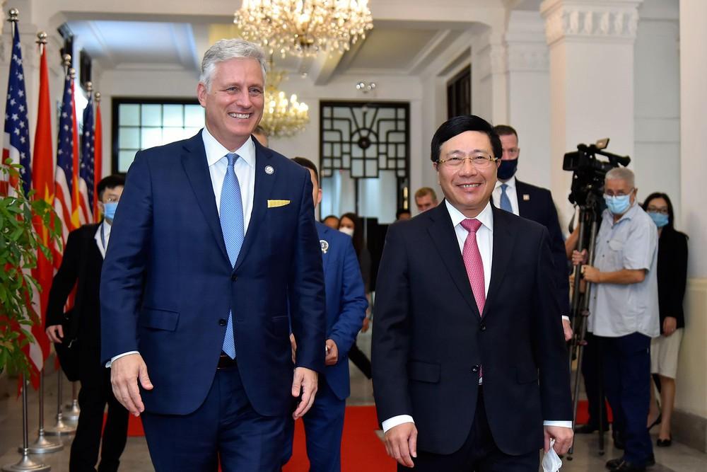 Quan hệ Việt-Mỹ phát triển mạnh mẽ chưa từng có - Ảnh 1.