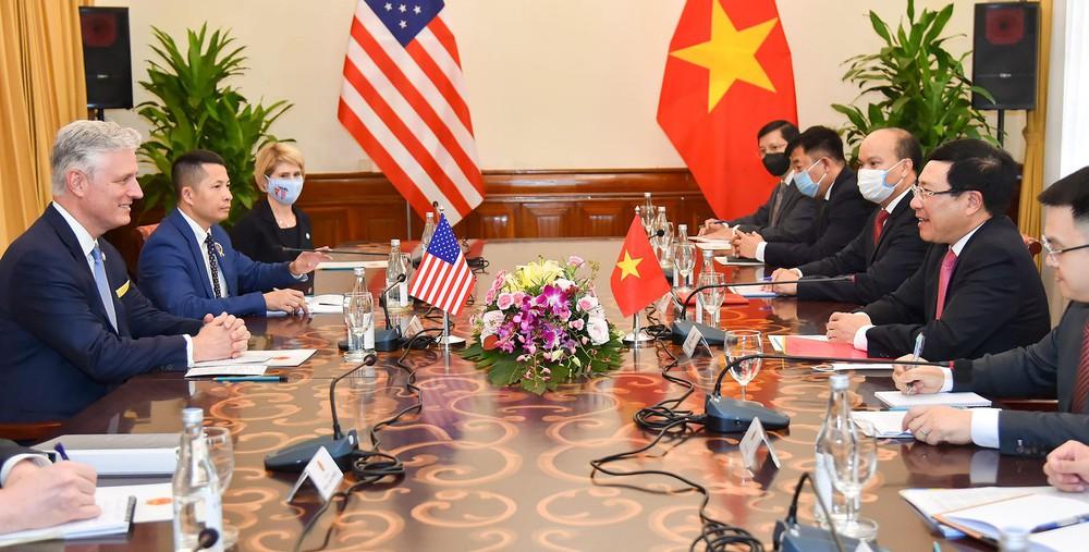 Quan hệ Việt-Mỹ phát triển mạnh mẽ chưa từng có - Ảnh 2.