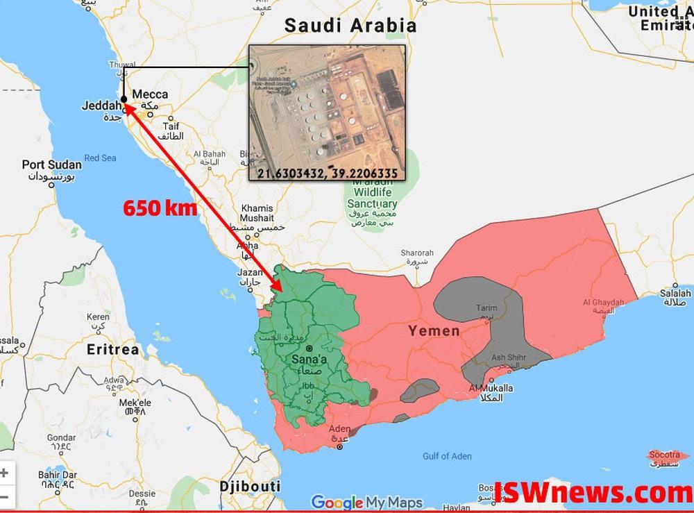 Houthi vừa tấn công cơ sở dầu mỏ bằng tên lửa 2 trong 1 khiến Arab Saudi phát sốt - Ảnh 1.