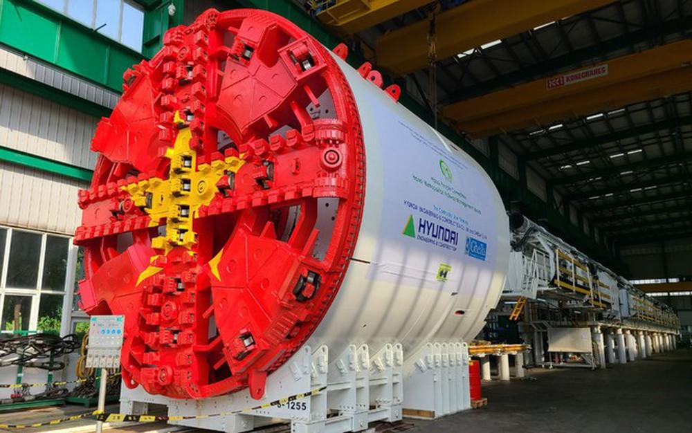 Robot đào hầm Metro Nhổn - ga Hà Nội cập cảng Hải Phòng - Ảnh 3.